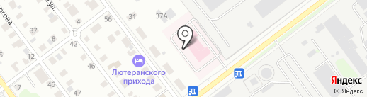Марий Эл-РОСНО-МС на карте Йошкар-Олы