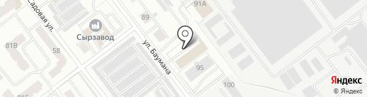 Бокс 12 на карте Йошкар-Олы