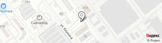 Ка-сервис на карте Йошкар-Олы