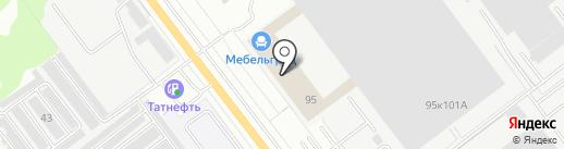 Банкомат, Газпромбанк на карте Йошкар-Олы
