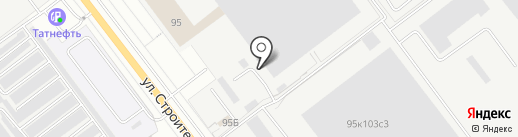 Фабрика ЛиРа на карте Йошкар-Олы