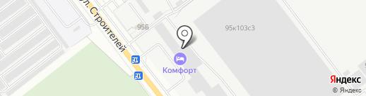 Союзантисептик, ЗАО на карте Йошкар-Олы