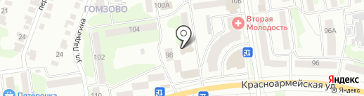 Нотариус Мокеева З.А. на карте Йошкар-Олы