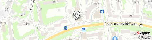 Агрозайм, КПК на карте Йошкар-Олы