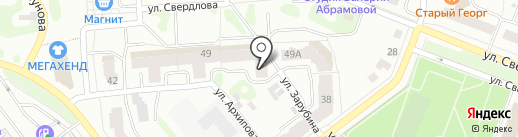 Птица на карте Йошкар-Олы