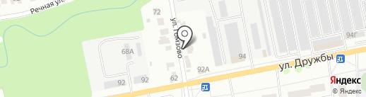 Auto Kraft на карте Йошкар-Олы
