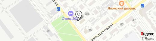 Безопасность, ФГУП на карте Йошкар-Олы