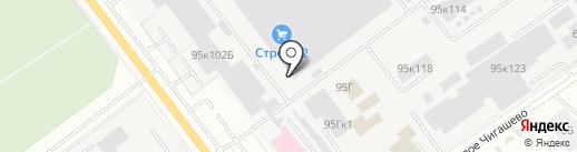Лукошко на карте Йошкар-Олы