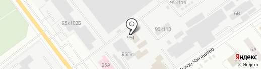 ИНТРО на карте Йошкар-Олы