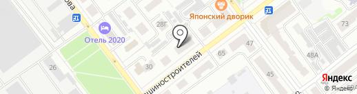 ГЛОРИНАЛ ГРУП на карте Йошкар-Олы