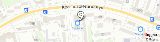 Аптека №72 на карте Йошкар-Олы