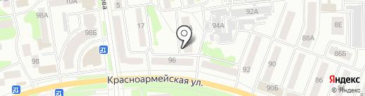 Автоинлайн на карте Йошкар-Олы