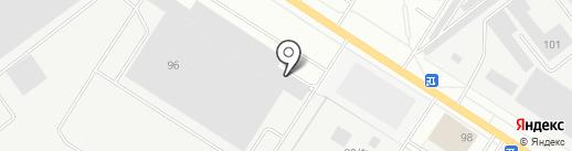 Ротор на карте Йошкар-Олы