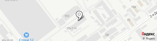 Rex на карте Йошкар-Олы