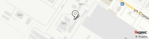 Мелета на карте Йошкар-Олы