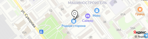 Калейдоскоп на карте Йошкар-Олы