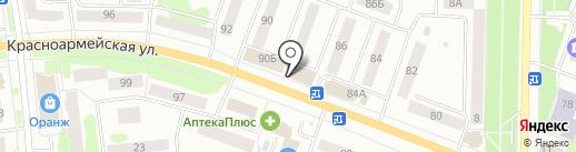 Магазин чулочно-носочных изделий на карте Йошкар-Олы