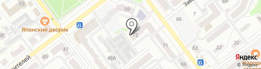 Мастерская архитектора Дмитриева Н.М. на карте Йошкар-Олы