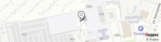 Автосервис на Дружбе на карте Йошкар-Олы