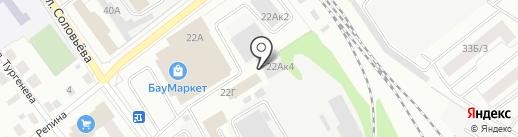 АВТОритет на карте Йошкар-Олы