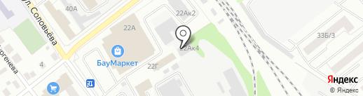 Торгово-ремонтная компания на карте Йошкар-Олы