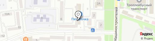 Мета-Сервис на карте Йошкар-Олы