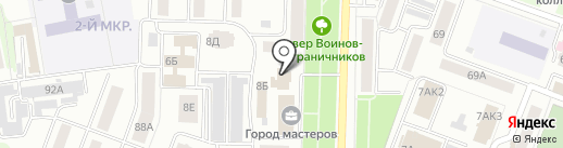 СМАРТС-Йошкар-Ола на карте Йошкар-Олы