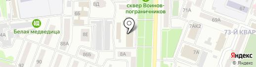 PRESTIGE на карте Йошкар-Олы