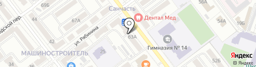 КапиталЪ недвижимость на карте Йошкар-Олы