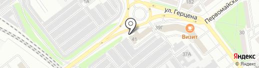 Рупак на карте Йошкар-Олы