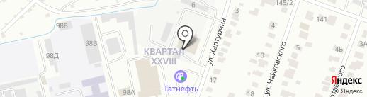 ТРИТОН на карте Йошкар-Олы