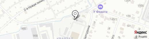Калина на карте Йошкар-Олы