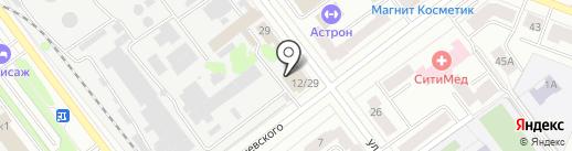 Set на карте Йошкар-Олы