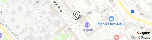 Общественная баня №3 на карте Йошкар-Олы
