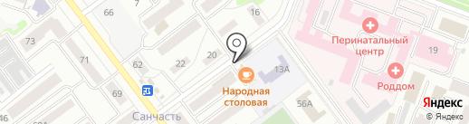 Металл-Дизайн на карте Йошкар-Олы