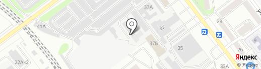 Технокомплект на карте Йошкар-Олы
