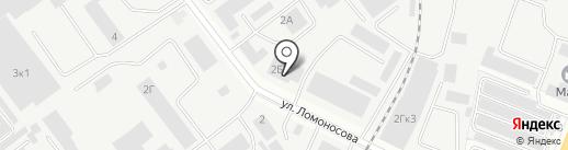Марийагромаш на карте Йошкар-Олы