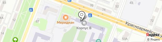 Развитие на карте Йошкар-Олы