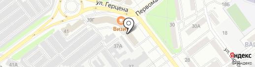 Адвокатский кабинет Устюжаниной О.Н. на карте Йошкар-Олы