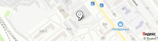 Автогаз12 на карте Йошкар-Олы