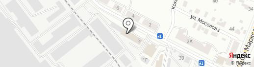 Отдел (инспекция) Федерального агентства по техническому регулированию и метрологии в Республике Марий Эл на карте Йошкар-Олы