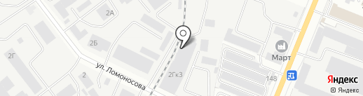 Фугрин на карте Йошкар-Олы