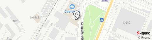 ПетроМастер на карте Йошкар-Олы