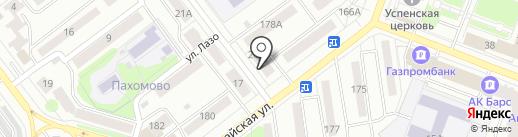 Автоэкспертиза на карте Йошкар-Олы