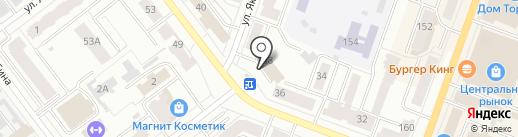 Сидорово на карте Йошкар-Олы