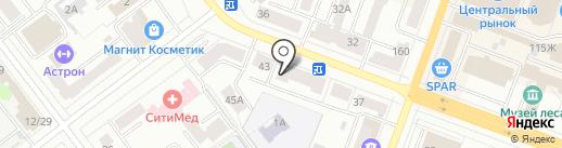 Умелец на карте Йошкар-Олы