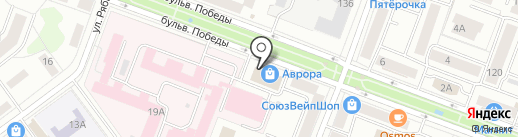 Экстренная замочная служба на карте Йошкар-Олы