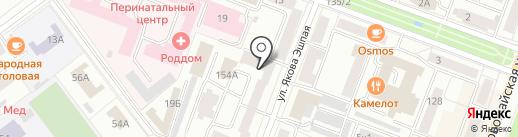 Продленка на карте Йошкар-Олы