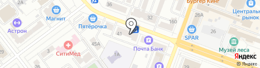 Фотокопировальный центр на карте Йошкар-Олы