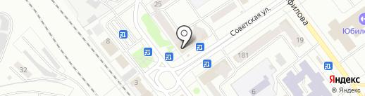 Letolie на карте Йошкар-Олы